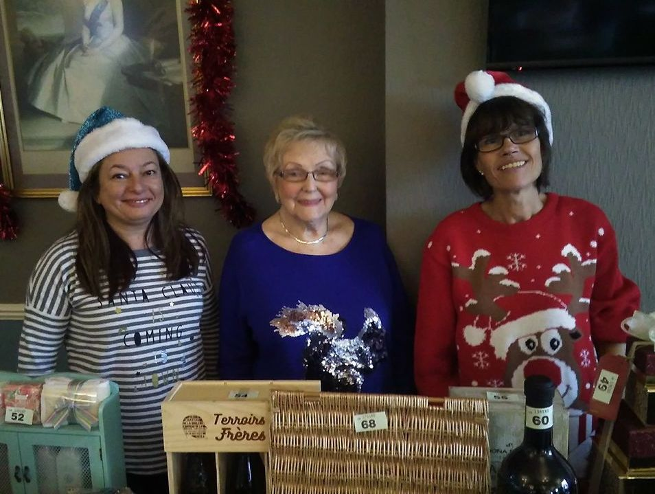 Lisa, June, and DOnna Xmas 2016