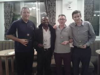 Winners of the Summer League Snooker Championship Final 2014 (Ivy Leaf) hosted at the Club